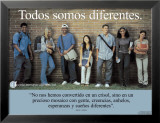 Todos Somos Diferentes- We&#39;re All Different Affiches