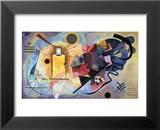 Gelb, Rot, Blau (1925) Kunst von Wassily Kandinsky