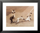 Jackie Robinson Stealing Home, May 18, 1952 Prints by Nat Fein