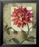 Trellised Dahlia Prints by Lisa Audit