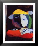 Frau auf dem Balkon, 1937 Poster von Pablo Picasso