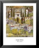 Church at Cassone sul Garda Kunstdrucke von Gustav Klimt