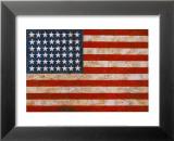 Jasper Johns - Flag, 1954-55 - Poster