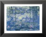 Nymphéas et branches de saule Poster par Claude Monet