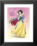 Snow White Shimmer Print by Walt Disney