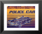 Police Car, c.1983 Art par Andy Warhol