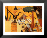 Terre Labouree, c.1923 Kunstdrucke von Joan Miró