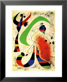 Noc Reprodukcje autor Joan Miró