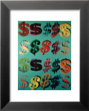 Dollar Signs, c.1981 Posters par Andy Warhol