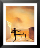 Le spectre de Vermeer van Delft qui peut servir de table, 1934 Poster par Salvador Dalí