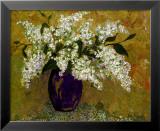 Blue Lilacs Kunst von Elizabeth Van Riper