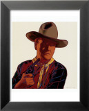 Cowboys and Indians: John Wayne 201/250, 1986 Psters por Andy Warhol