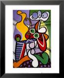 Stilleben mit Birnen und Trauben Kunstdruck von Pablo Picasso
