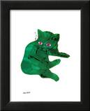 Green Cat, c.1956 Prints by Andy Warhol