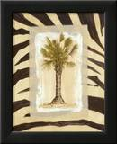 Zebra Palm I Posters by Marie Frederique