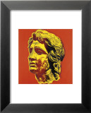Alexander the Great, c.1982 (yellow face) Poster par Andy Warhol