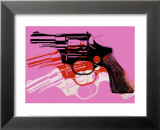 Gun, c.1981-82 Posters by Andy Warhol