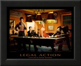 Legal Action Affiches par Chris Consani
