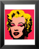 Andy Warhol - Marilyn Monroe, 1967 (hot pink) Plakát