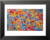 Jasper Johns - Harita - Reprodüksiyon