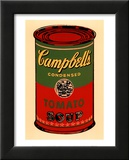 Campbell's Soup Can, 1965 (Green and Red) Poster von Andy Warhol