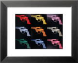 Gun, c.1982 Lminas por Andy Warhol