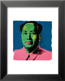 Mao, c.1972 (Green) Affiches par Andy Warhol