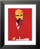 Red Lenin, c.1987 Art by Andy Warhol