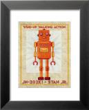 Stan Jr. Box Art Robot Poster von John Golden