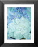 White Rose with Larkspur Póster por Georgia O'Keeffe