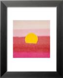 Sunset, c.1972 40/40 (pink) Plakat af Andy Warhol
