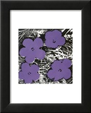 Andy Warhol - Flowers, c.1965 (Purple) - Poster