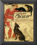 Clinique Cheron Affiche par Théophile Alexandre Steinlen