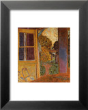 Door Open Onto the Garden Posters by Pierre Bonnard