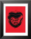 Heart, c.1984 Poster von Andy Warhol