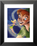 Tinker Bell and Peter Pan: A Touch of Magic Prints by Walt Disney