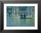 Palazzo Da Mula, Venice Print by Claude Monet