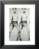 Double Elvis, vers 1963 Posters par Andy Warhol