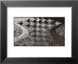 Dag en nacht Affiches van M. C. Escher