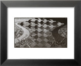 Día y noche Láminas por M. C. Escher
