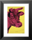 Cow, c.1966 (Yellow and Pink) Poster di Andy Warhol