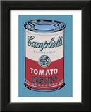 Lata de sopa Campbell, 1965, rosa y rojo Póster por Andy Warhol