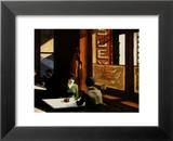 Chop Suey Poster par Edward Hopper