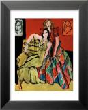 Two Young Women, the Yellow Dress and the Scottish Dress, c.1941 Kunstdrucke von Henri Matisse