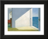 Rooms by the Sea Print van Edward Hopper