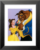 Belle and the Beast, A Romantic Gift Poster