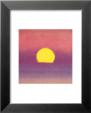 Sunset, c.1972 40/40 (lavender) Posters by Andy Warhol