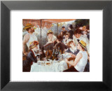 The Luncheon of the Boating Party, c.1881 Lminas por Pierre-Auguste Renoir