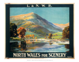 North Wales for Scenery Prints