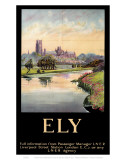 Ely Cathedral Dark Frame Prints